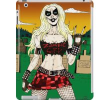 Horror Punk Zombie Girl iPad Case/Skin