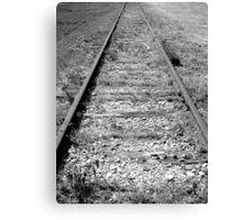 Historical Tracks Canvas Print