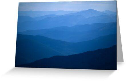 Mountain Layers by Gary Lengyel