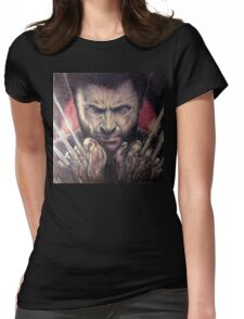 The wolverine Womens Fitted T-Shirt