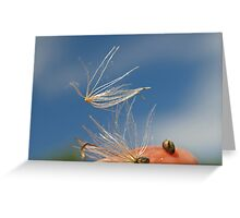 free as the wind Greeting Card