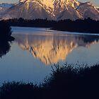 Mt. Moran at Dawn, Grand Teton National Park by Gary Lengyel