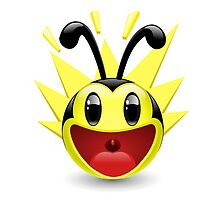 Excited Bee by KakangMudi