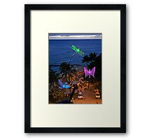 SprinkLites(TM) at Sunset  Framed Print