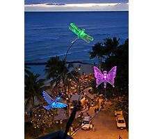 SprinkLites(TM) at Sunset  Photographic Print