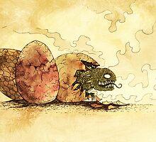 Dragon Eggs by djrbennett