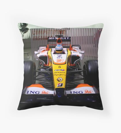 london motorshow Throw Pillow