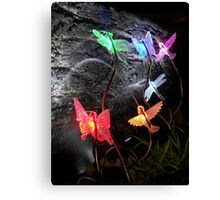 Sprinkle Lights in a Grotto Display Canvas Print