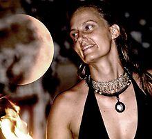 solar eclipse Krystal Fyre Dance by Gaia Vision