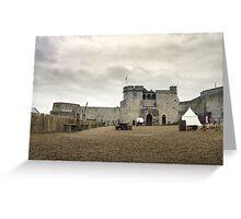 King John's Castle Greeting Card