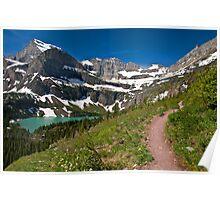 Grinnell Lake, Glacier National Park Poster