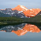 Mt. Gould at Sunrise, Glacier National Park by Gary Lengyel
