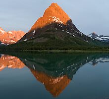 Panorama of Mt. Gould and Grinnell Point by Gary Lengyel