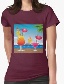 Cocktail on the beach 2 T-Shirt