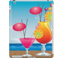 Cocktail on the beach 3 iPad Case/Skin