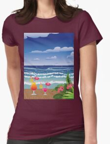 Cocktail on the beach 4 T-Shirt
