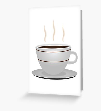 Cup of coffee 2 Greeting Card