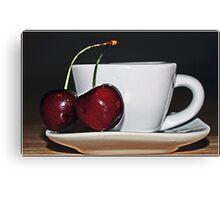 Cherry Tea Canvas Print