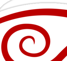 Crimson Eye Sticker