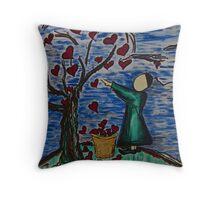 Harvesting Targets Throw Pillow