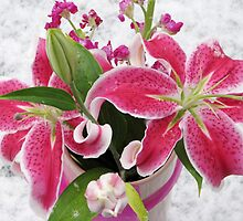 A Bouquet In The Snow For You by AngieDavies