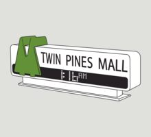 BACK TO THE FUTURE, TWIN PINES MALL by JAMES & MOONIE
