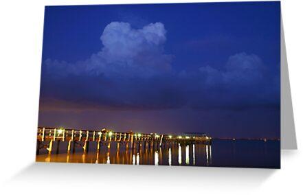 Evening At The Pier by MMerritt