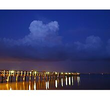 Evening At The Pier Photographic Print