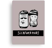 Sleaford Mods Beer Canvas Print
