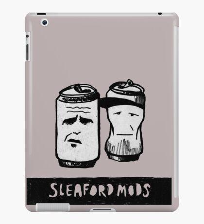 Sleaford Mods Beer iPad Case/Skin