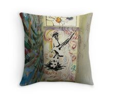 It's About to Blow! Throw Pillow
