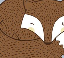 Dreaming Fox Sticker