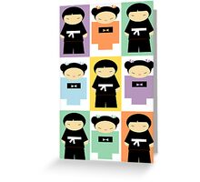 Origami Sushi Love Mix Greeting Card