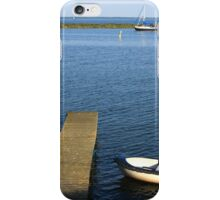 Little Boat By The Dock iPhone Case/Skin