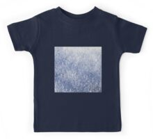 Winter snow texture Kids Tee