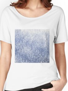 Winter snow texture Women's Relaxed Fit T-Shirt