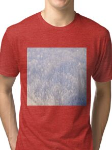 Winter snow texture 2 Tri-blend T-Shirt