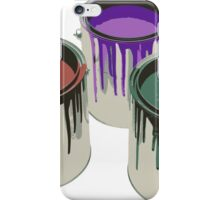3 Paint Gallons iPhone Case/Skin