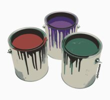 3 Paint Gallons by grimelab1