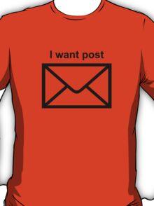 Modernity is so boring T-Shirt
