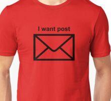 Modernity is so boring Unisex T-Shirt