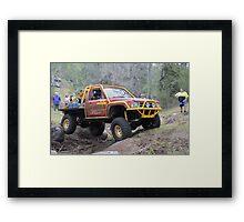 Tough Tracks Rd 2 2008 Framed Print