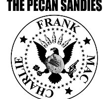 The Pecan Sandies (White) by waltervinci