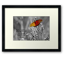 Miraculous Changes . . . Framed Print