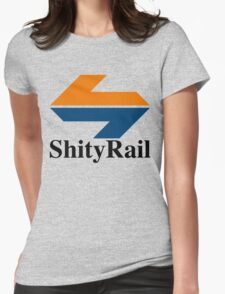 ShityRail Womens Fitted T-Shirt