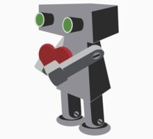 Robots need love too... Kids Clothes