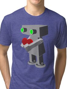 Robots need love too... Tri-blend T-Shirt