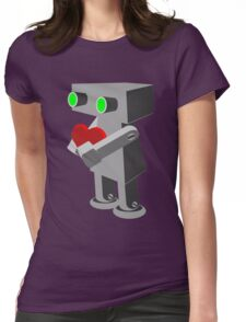 Robots need love too... Womens Fitted T-Shirt