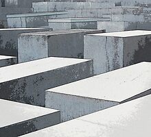 The Holocaust Memorial, Berlin, Germany by buttonpresser