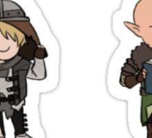 Team Fade Nerds Sticker